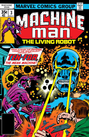 Machine Man Vol 1 3