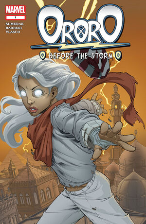 Ororo Before the Storm Vol 1 1