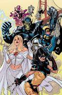 Secret Invasion X-Men Vol 1 1 Textless