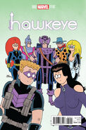 All-New Hawkeye Vol 2 2 Hembeck Variant