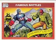 Steven Rogers vs. Johann Shmidt (Earth-616) from Marvel Universe Cards Series I 0001