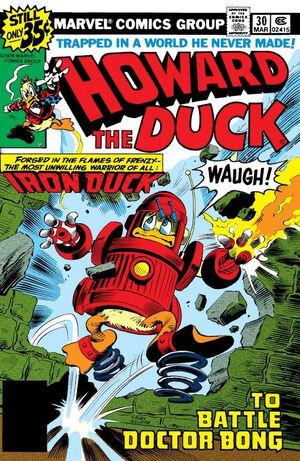 Howard the Duck Vol 1 30
