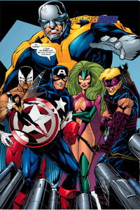 Avengers (Earth-3931) from Exiles Vol 1 31 0001