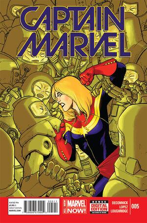 Captain Marvel Vol 8 5