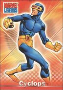 Scott Summers (Earth-616) from Marvel Legends (Trading Cards) 0002