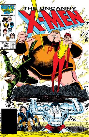 Uncanny X-Men Vol 1 206