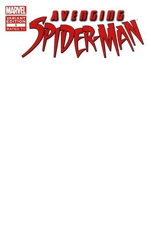 File:Avenging Spider-Man Vol 1 1 Blank Variant.jpg