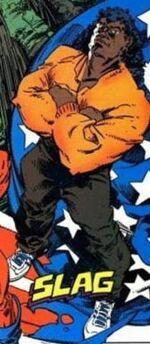 Slag (Slagley) (Earth-616) from Marvel Comics Presents Vol 1 11 001