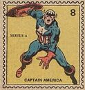 Captain America Marvel Value Stamp