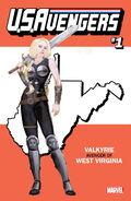 U.S.Avengers Vol 1 1 West Virginia Variant