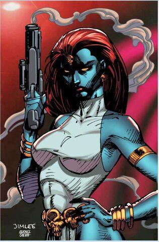 File:Avengers Vol 7 9 X-Men Trading Card Variant Textless.jpg