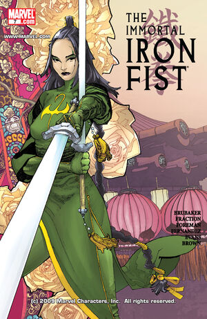 Immortal Iron Fist Vol 1 7