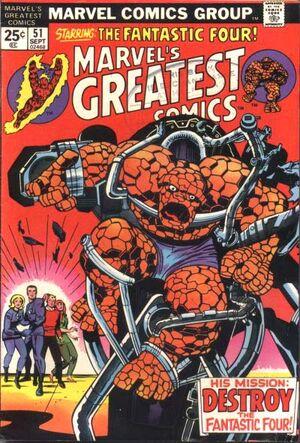 Marvel's Greatest Comics Vol 1 51