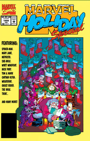 Marvel Holiday Special Vol 1 1993