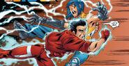 Noriko Ashida (Earth-616) and Julian Keller (Earth-616) from New X-Men Vol 2 23 0001