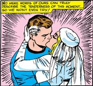 Reed Richards and Sue Storm's wedding from Fantastic Four Annual Vol 1 3