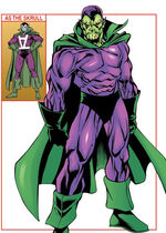 Sk'ym'x (Earth-712) from Avengers Roll Call Vol 1 1 0001