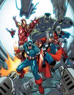 Avengers (Earth-14325) from Avengers Vol 5 25 0001