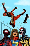 All-New, All-Different Avengers Vol 1 4 Deadpool Variant Textless