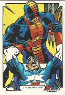 Frank Payne and Steven Rogers (Earth-616) from Mike Zeck (Trading Cards) 0001