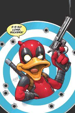Deadpool the Duck Vol 1 5 Textless