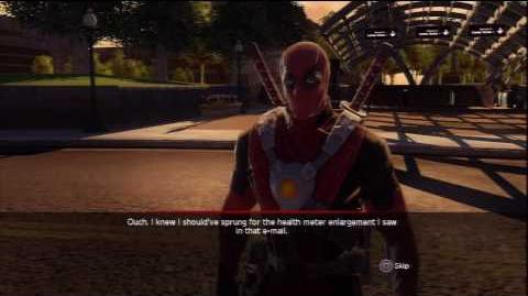 Marvel Ultimate Alliance 2 - Deadpool Battle
