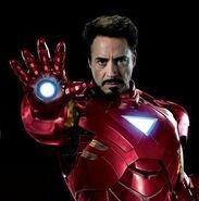 Anthony Stark (Earth-199999) from Avengers poster