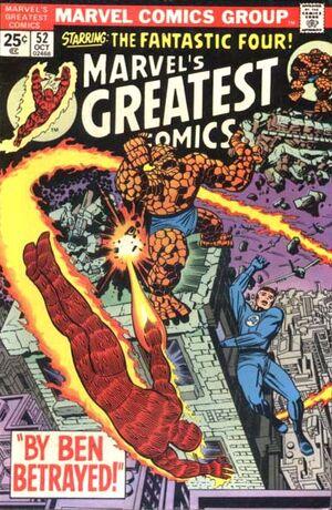 Marvel's Greatest Comics Vol 1 52