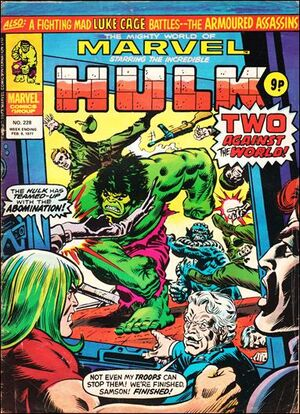 Mighty World of Marvel Vol 1 228