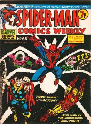 Spider-Man Comics Weekly Vol 1 68