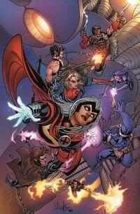 Uncanny X-Force Vol 2 11 X-Men 50th Anniversary Variant Textless