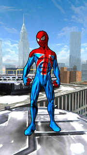 William Braddock costume from Spider-Man Unlimited video game (Earth-TRN461)