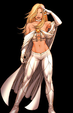 Emma Frost (Earth-616) from Uncanny X-Men Vol 2 1 Dale Keown Variant 0001