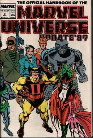 Official Handbook of the Marvel Universe Vol 3 2