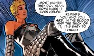 Alison Blaire (Earth-11326) from Age of X Alpha Vol 1 1 0001