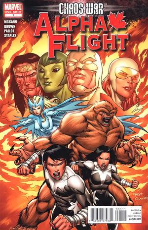Chaos War Alpha Flight Vol 1 1
