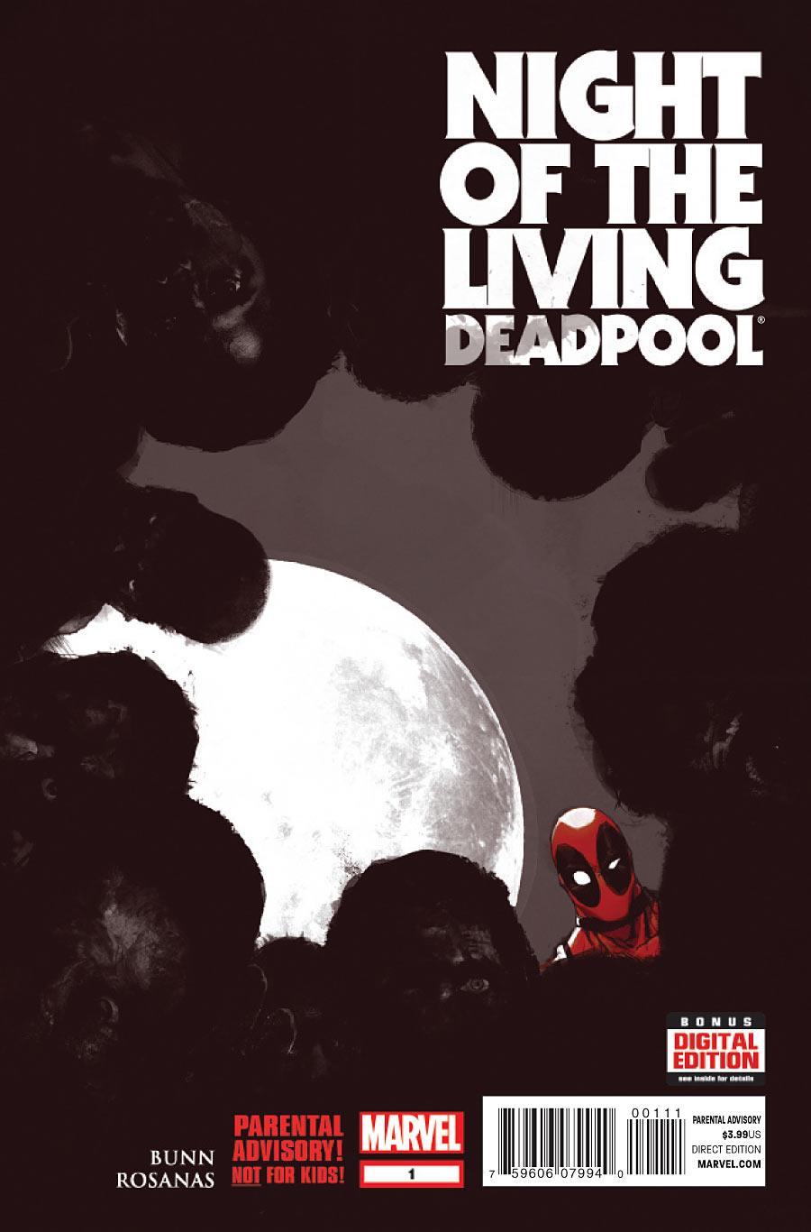 Resultado de imagen para night of the living deadpool #1