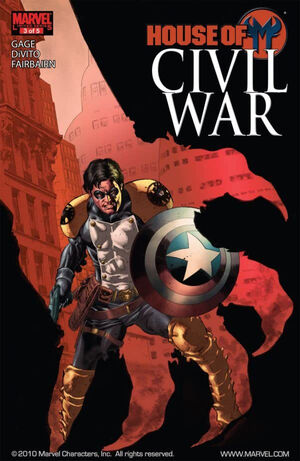 Civil War House of M Vol 1 3