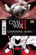 Civil War II Choosing Sides Vol 1 2