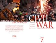 Civil War Vol 1 7 Wraparound