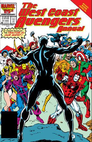 West Coast Avengers Annual Vol 1 1