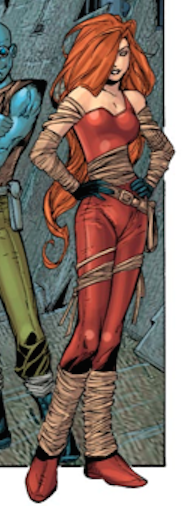 Glamour (Earth-616) from Excalibur Vol 3 1