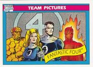 Fantastic Four (Earth-616) from Marvel Universe Cards Series I 0001