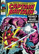 Captain Britain Vol 1 34