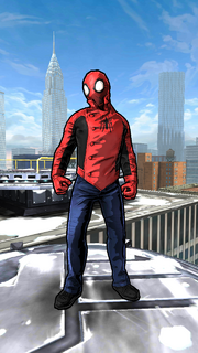Ezekiel Sims (Earth-TRN461) from Spider-Man Unlimited (video game) 002