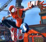Peter Parker (Mangaverse) (Earth-TRN579) from Spider-Man Shattered Dimensions 001