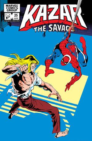 Ka-Zar the Savage Vol 1 25