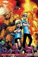 Secret Invasion Fantastic Four Vol 1 3 Textless