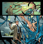 Criti Noll (Clone) (Earth-616) and Reed Richards (Earth-616) and Secret Invasion Vol 1 1 0001