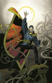 Doctor Strange Vol 4 1 Nowlan Variant Textless